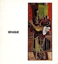 BRAQUE Georges. Catalogo di mostra, Accademia di Francia 1974. Testo di Leymari