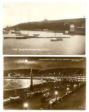 ENGLAND -ISLE OF MAN -- 1927 ca.. 2 x FOTO PPC ----F/VF