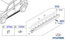 Genuine Hyundai Tucson MODANATURA LATERALI (Lato Davanzale), RH - 87752d7000ca