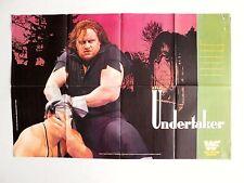 The UNDERTAKER & YOKOZUNA WWF ORIGINAL Wrestling Poster 22x32 1993 WWE