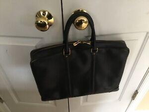 Authentic vintage Louis Vuitton epi black leather Porte-documents voyage briefca