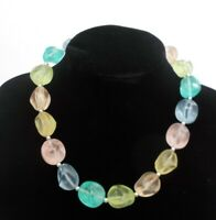 Retro 1950's Inspired Pastel Choker Necklace.