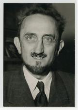 Portrait du Professeur Francis Perrin (Président du Conseil Supèrieur de l'