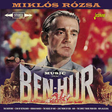 Music From Ben-Hur - Miklos Rozsa (2015, CD NEU)