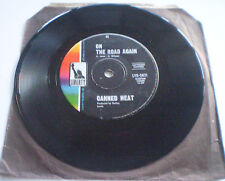"""CANNED HEAT - 7""""45 - """"ON THE ROAD AGAIN / BOOGIE MUSIC""""  1968 AUSTRALIA LYK-2471"""