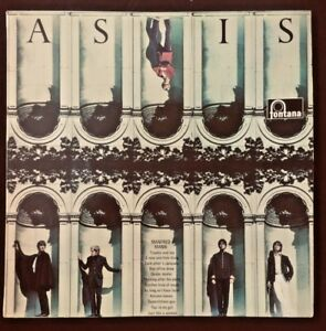 FONTANA STL5377; MANFRED MANN - AS IS -1966 stereo LP - EXCELLENT SOUND RECORD