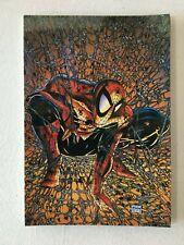 SPIDER-MAN IN WEBS POSTCARD TODD MCFARLANE ART