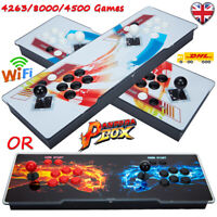 UK 2021 New 8000/4263/4500 Games Pandora's Box Video 3D Games HD Arcade Consoles