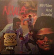 N.W.A - 100 Miles And Runnin' LP [Vinyl New] NWA Ltd. Ed. 3d Lenticular Cover EP