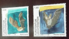 LIECHTENSTEIN MNH MINT NEVER HINGED 2005 BATS SG 1388-9 STAMP SET