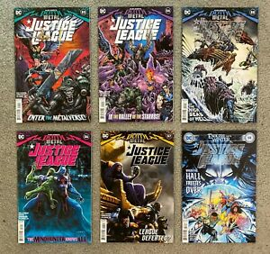 Justice League #53-58 complete set (6) * full run all NM * 54 55 56 57 2020 2021