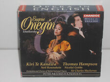 095115304228 Tchaikovsky Eugene Onegin In English Welsh Opera Orch Mackerras 2CD