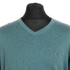 TOMMY HILFIGER Cotton Silk Sweater | Jumper Top Pullover Retro Vintage