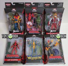 In STOCK Hasbro Toys Marvel Legends Deadpool Wave 2 Sauron BAF Action Figure SET