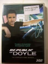 REPUBLIC OF DOYLE THE COMPLETE 1st SEASON 3 DVD VIDEO NEW IN SEALED PACK :FM20-7
