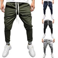 Herren Hip Hop Hosen Fitnesshose Trainingshose Sweatpant Skinny Jogginghose Pant
