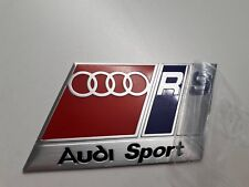 AUDI Sport RS Badge RennSport RS4 RS6 RS7 TTRS A4 B4 Quattro All Audi DTM