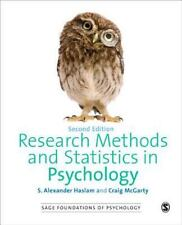 Research Methods and Statistics in Psychology by Haslam and McGarty