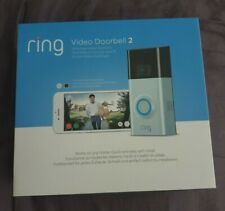 RING 2 - WI-FI VIDEO SECURITY DOORBELL - BOXED - BRAND NEW FACTORY SEALED