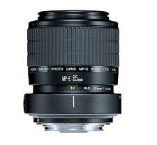 Canon MP-E 65mm f/2.8 1-5x Manual Focus Macro Lens & Tripod Mount Ring #2540A002
