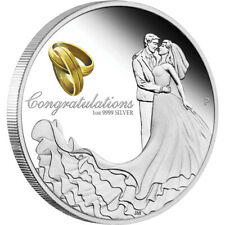 2019 Wedding 1oz Silver Proof Coin