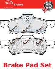 Apec Rear Brake Pads Set OE Quality Replacement PAD1287