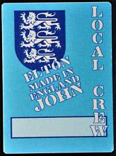 Authentic Silk Backstage Pass Elton John Made In England 1995 Concert Tour OTTO