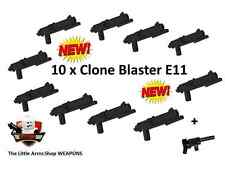 Little Arms Shop: Waffenset 10 x E-11 / E11 Blaster für LEGO Star Wars #17.02