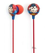 Superman Symbol Icon Ihip Noise Reduction Earphones Earbuds Licensed