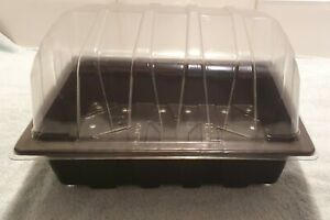 Seed Trays & Clear Propagator Top Lids Half Size Seedling Tray Choose Quantity