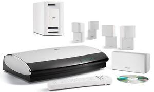 Bose Lifestyle® 28 Series IV DVD home entertainment system. WhIte. GWO