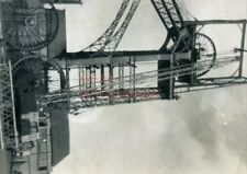 PHOTO  GLAMORGAN SHEAVE REPLACEMENT ON NO.1 HEADGEAR AT DEEP NAVIGATION COLLIERY