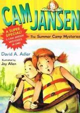 CAM Jansen and the Summer Camp Mysteries (Cam Jansen Mysteries)-ExLibrary