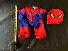 "Build A Bear Costume Lot Darth Vader Spider Man Iron Man Batman 10"" Bear"