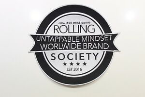 Rolling Society Original Logo Iron On/Sew On Patch