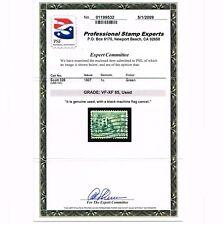 GENUINE SCOTT #328 USED 100% SOUND PSE CERT GRADED VF-XF FLAG CANCEL ESTATE SALE