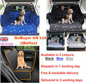 Dog Car Boot  Liner Protector Bumper Mat for Dogs /Pet Car Boot Cover Waterproof