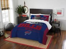 Buffalo Bills - 3 Pc FULL / QUEEN SIZE Printed Comforter / Sham Set