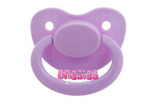 Adult Sized Lavender Pacifier/Dummy NUK 6 | Adult Baby ABDL DDLG | BIG SHIELD