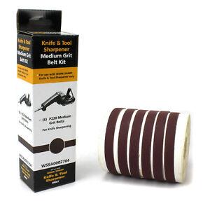 Work Sharp Schärfband-Sortiment, Körnung 220 - 09DX012 - Schleifbänder