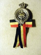 WWI / WWII IMPERIAL GERMANY HANOVER LANDES VETERANS HONOR MEDAL W/RIBBON  RARE