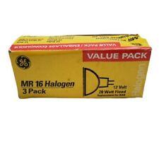 GE General Electric MR 16 Halogen Lights 3-pack