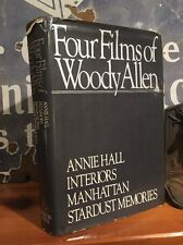 """SCARCE """"Four Films of Woody Allen"""" Hardback First Edition, Unclipped DJ 1982"""