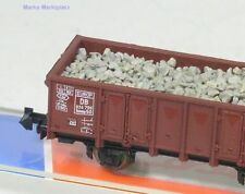 N ouvert wagons Ommp 50 DB M. du Ballast chargement ROCO 25923 article neuf VP