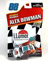 Alex Bowman #88 NASCAR Authentics LLumar Window Film 2020 Wave 5 1/64 Die-Cast