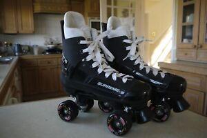 SUPREME TURBO 33 Classic Quad Roller skates Bauer Street Slicks size 8UK 42 EU