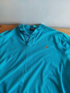 Polo Ralph Lauren Polo Shirt Turquoise XL