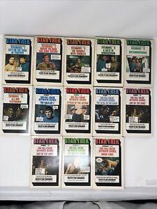 Star Trek Fotonovel Photonovel Paperback Books #1-12 + An Extra Novel
