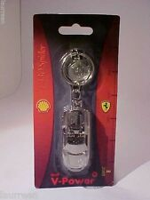 Ferrari F430 Spider Keyring Keyfob SHELL V-Power 1/76 Metal Mint / Card 2008