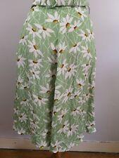 King Louie Rock grün-weiß kariert border-skirt Bardot jungle green 4205631B